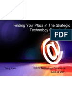 Finding Your Place in the Strategic Technology Organization