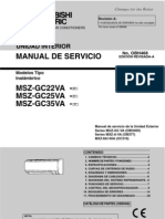Manual Tecnico Msz Gc 25va