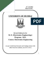 ME Electronics Mumbai University