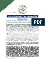 Plancha n.00741 - Senderos en La Masoneria