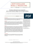 revalence of Prostate Cancer among Men with a Prostate-Specific Antigen Level ≤4.0 ng per Milliliter