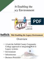 Web Enabling the Legacy Environment STC 2003