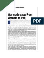 War Made Easy - Book Excerpt
