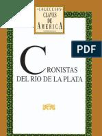 Cronistas Del Rio de La Plata