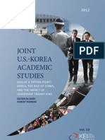 Sociological Processes Section With Intro All Chapters - Joint u s -Korea Academic Studies 2012