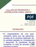 Regresion y Correlacion Lineal (Ejemplo)