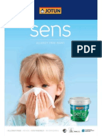 Jotun Sens Allergy Free Paint +Colour+Card