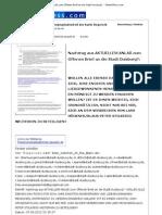 Nachtrag aus AKTUELLEM ANLAß zum Offenen Brief an die Stadt Duisburg?- - News4Press.com - 07. Juni 2012
