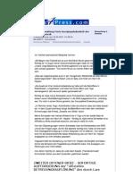 ZWEITER OFFENER BRIEF - SOFORTIGE AUFFORDERUNG der %22offiziellen BETREUUNGSAUFLÖSUNG%22 des durch Lars Mückner INSZENIERTEN und FINGIERTEN %22Betreuungsverfahrens%22, mit Hilfe des Klaus-Peter Stilkerigs! ... - News4Press.com - 10. Juni 2012
