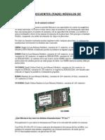Preguntas frecuentes acerca de Memoria RAM