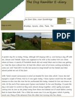 The Dog Rambler E-diary 20 July 2012