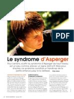 Le Syndrome D'Asperger - Revue Santé Canadienne Nov. 2011