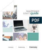 Gateway m505 - Users Guide