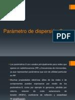 Parámetro de dispersión