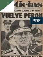 Diario Noticias - Argentina - Año 1, No. 3, 23 de noviembre de 1973