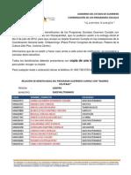 """RELACIÓN DE BENEFICIADOS DEL PROGRAMA GUERRERO CUMPLE CON """"MADRES SOLTERAS"""" MUNICIPIO QUECHULTENANGO"""
