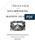 Emanuel Swedenborg | Doctrina Vitae Pro Nova Hierosolyma Ex Praeceptis Decalogi