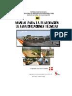 Manual Para Elaborar Especificaciones Tecnicas
