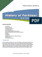 History of Fertilizers