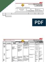 planificacion quimica