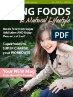 Living Foods Mag inaugural Issue July 2012
