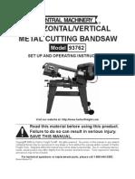 Metal Cutting Bandsaw 93762