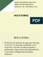 DISEÑO DE BOCATOMAS