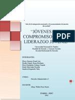 Trabajo de Politica - Derecho Administrativo 2012-20