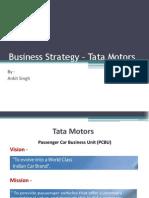 Business Strategy – Tata Motors - Ankit Singh
