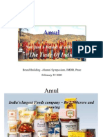 Amul as Brand