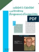 Baudelot y Establet-Lestotons Flingueurs Dinegalietes