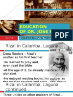 Rizal Education