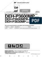 Deh p3600mp
