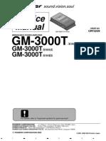 Pioneer GM 3000T