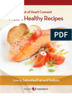 Heart Healthy Cookbook
