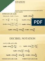Decibel Notation
