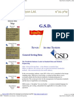 GSD - 7 Benefits in One System - General Sewing Data