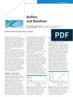Buffers and Baselines