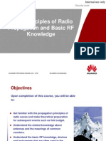 Basic Propagation Principles of Radio Waves and Basic RF Knowledge