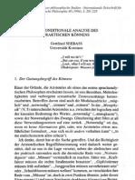 Seebaß, Gottfried (1994) - Die konditionale Analyse des praktischen Könnens