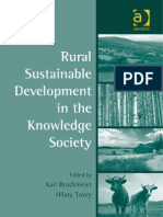 Karl Bruckmeier and Hilary Tovey-Rural Sustainable Development in the Knowledge Society (Perspectives on Rural Policy and Planning)(2009)