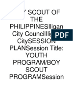 Boy Scout of the Philippinesiligan City Councililigan Citysession Plansession Title