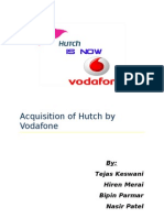 Acquisition of Hutch by Vodafone