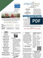 22nd July 2012 Wall News Sheet