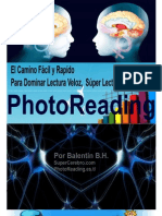 El Camino Facil y Rapido Para Dominar PhotoReading