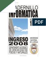 Cuadernillo Informatica - Ppi 2008