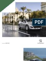 Peugeot 207 Cc Brochure Range 1