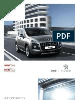 Peugeot 3008 Brochure
