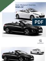 Peugeot Roland Garros Range Brochure