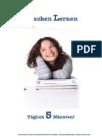 Sprachen Lernen - täglich 5 Minuten